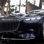 Mercedes-Benz представила концепт-кар роскошного электромобиля Vision Mercedes-Maybach 6 Cabriolet