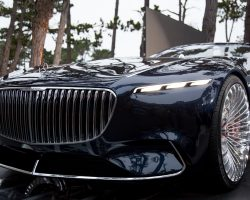 Mercedes-Benz представила концепт-кар роскошного электромобиля Vision Mercedes-Maybach 6 Cabriolet