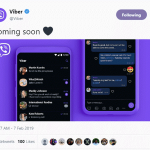Мессенджер Viber обновился и получил долгожданную темную тему, правда пока только для Android