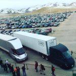 Электрогрузовики Tesla Semi доставили первые грузы