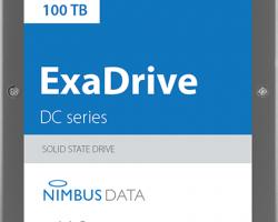 Компания Nimbus Data представила первый в мире SSD ёмкостью 100 ТБ