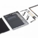 Новый планшет Apple iPad набрал два балла по шкале ремонтопригодности iFixit