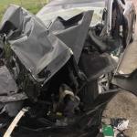 Автомобиль Tesla Model S, двигавшийся на автопилоте, врезался в припаркованную пожарную машину