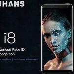 Uhans I8 – бюджетный смартфон, оснащенный системой распознавания лица