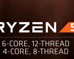AMD выпустила Ryzen 5 — линейку процессоров для настольных ПК