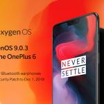 OnePlus 6 получил обновление OxygenOS
