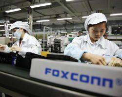 Из-за проблем с производством iPhone X у компании Foxconn резко снизилась прибыль