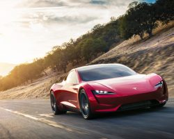 Представлен новый спорткар Tesla Roadster