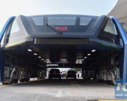 Проект, создававший «автобус будущего» в Китае признан аферой