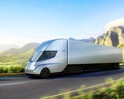 Tesla представила электрический грузовик с автопилотом Semi