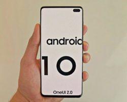 Android 10 для смартфонов Samsung — график выхода обновлений