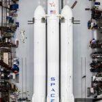 Опубликованы первые фото тяжелой ракеты Falcon Heavy