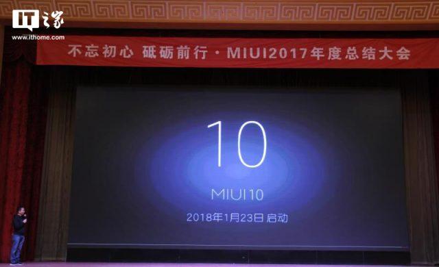 Xiaomi «представила» новейшую прошивку MIUI 10