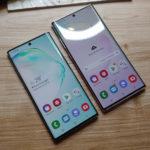 Samsung выпустила обновления для камер Galaxy Note10 и Galaxy Note10+