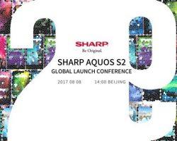 Компания Sharp 8 августа представит смартфон с безрамочным дисплеем Free Form Display