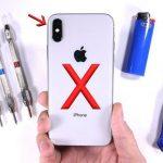 JerryRigEverything проверил на прочность смартфон iPhone X