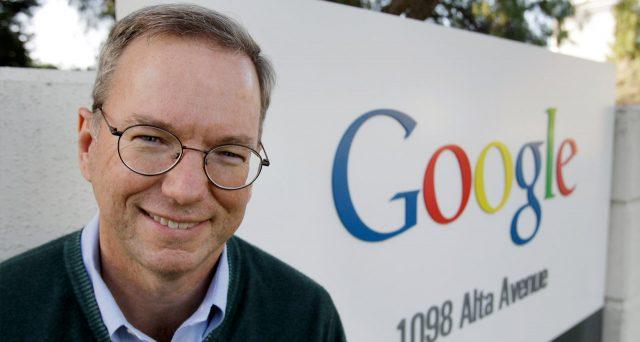 Шмидт покинет пост руководителя компании Alphabet