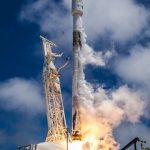 SpaceX вывела на орбиту семь спутников: пять спутников связи Iridium NEXT и два спутника GRACE-FO