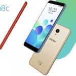 Представлен бюджетный смартфон Meizu M8c