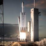 Компания SpaceX запустила ракету Falcon Heavy