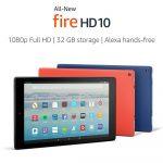 Amazon представила планшет All-New Fire HD 10