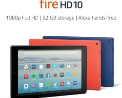 Amazon представила планшет All-New Fire HD 10