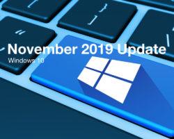Обновление Windows 10 November 2019 Update начало распространяться автоматически