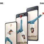 Представлен смартфон Samsung Galaxy A80
