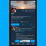 Ночной режим Twitter теперь и на  iOS