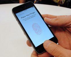 Apple собирает отпечатки пальцев воров iPhone