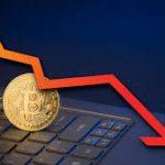 Курс криптовалюты биткоин опустился ниже $10 000