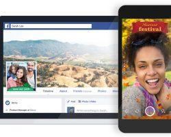 Теперь в Facebook можно создавать собственные рамки для фото и видео
