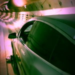 Tesla Model X проехал по тоннелю The Boring Company