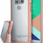 Появились новые фото смартфона LG G6 в чехле Ringke