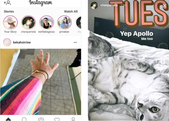Социальная сеть Instagram запустил «Истории» вбраузере