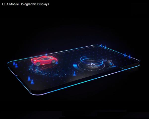 RED рассекретила «голографический» экран  телефона  Hydrogen