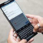 BlackBerry прекращает поддержку смартфона BlackBerry Priv
