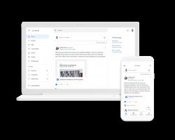 Google представила сервис Currents