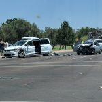 Беспилотный автомобиль Waymo попал в аварию в Аризоне