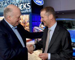 Volkswagen и Ford подписали меморандум о взаимопонимании