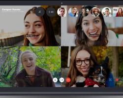 Теперь Skype поддерживает до 50 пользователей при совершении группового звонка