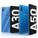 Представлены смартфоны среднего уровня Samsung Galaxy A30 и Galaxy A50