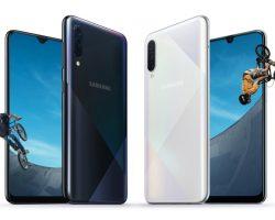 Представлены смартфоны Samsung Galaxy A30s и Galaxy A50s