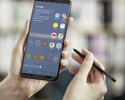 Для смартфонов Samsung Galaxy Note 8 началось распространение обновления прошивки до Android 8.0 Oreo
