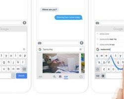 Клавиатура Gboard для Android обновилась, добавлена поддержка переводчика, автоматическая вставка Emoji и GIF