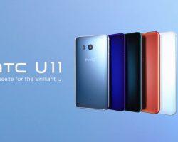 Представлен смартфон HTC U11 с функцией «Edge Sense»