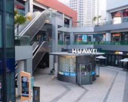 Huawei открыла уникальный магазин без персонала