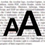 Как увеличить на компьютере шрифт?