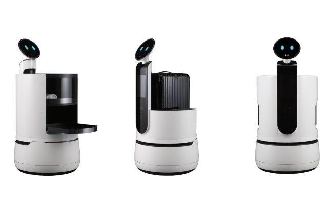 LGразработала роботов для замены служащих аэропортов, отелей имагазинов