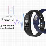 Компания MGCool представила фитнес-трекер Band 4